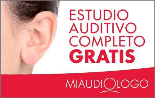 Estudio auditivo completo gratis