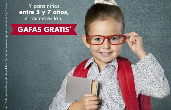 Gafas gratis