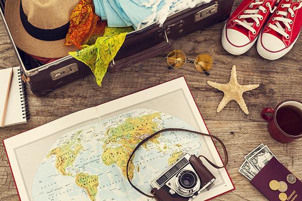 Lista para hacer la maleta, blog Palacio de Hielo