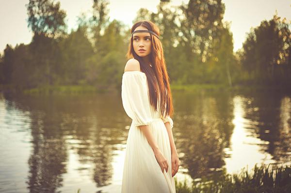 Vestir de color blanco, palacio de hielo