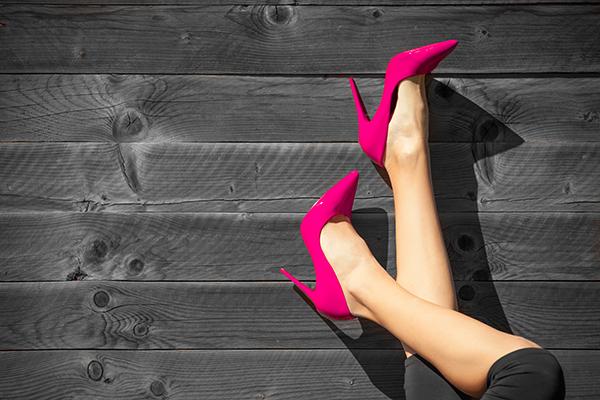 Vestir color rosa, palacio de hielo