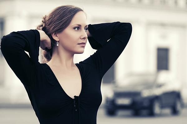 Vestir color negro, blog palacio de hielo