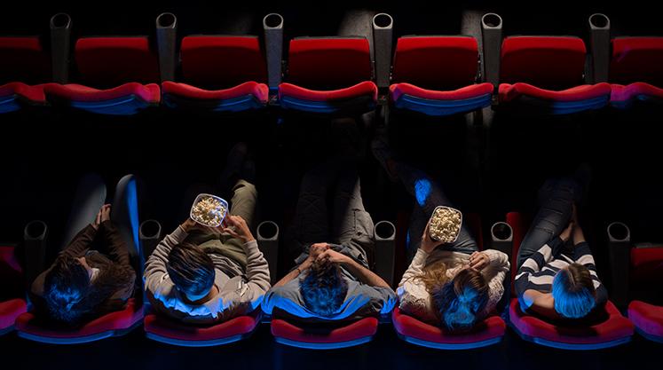 Llega la fiesta del cine a palacio de hielo