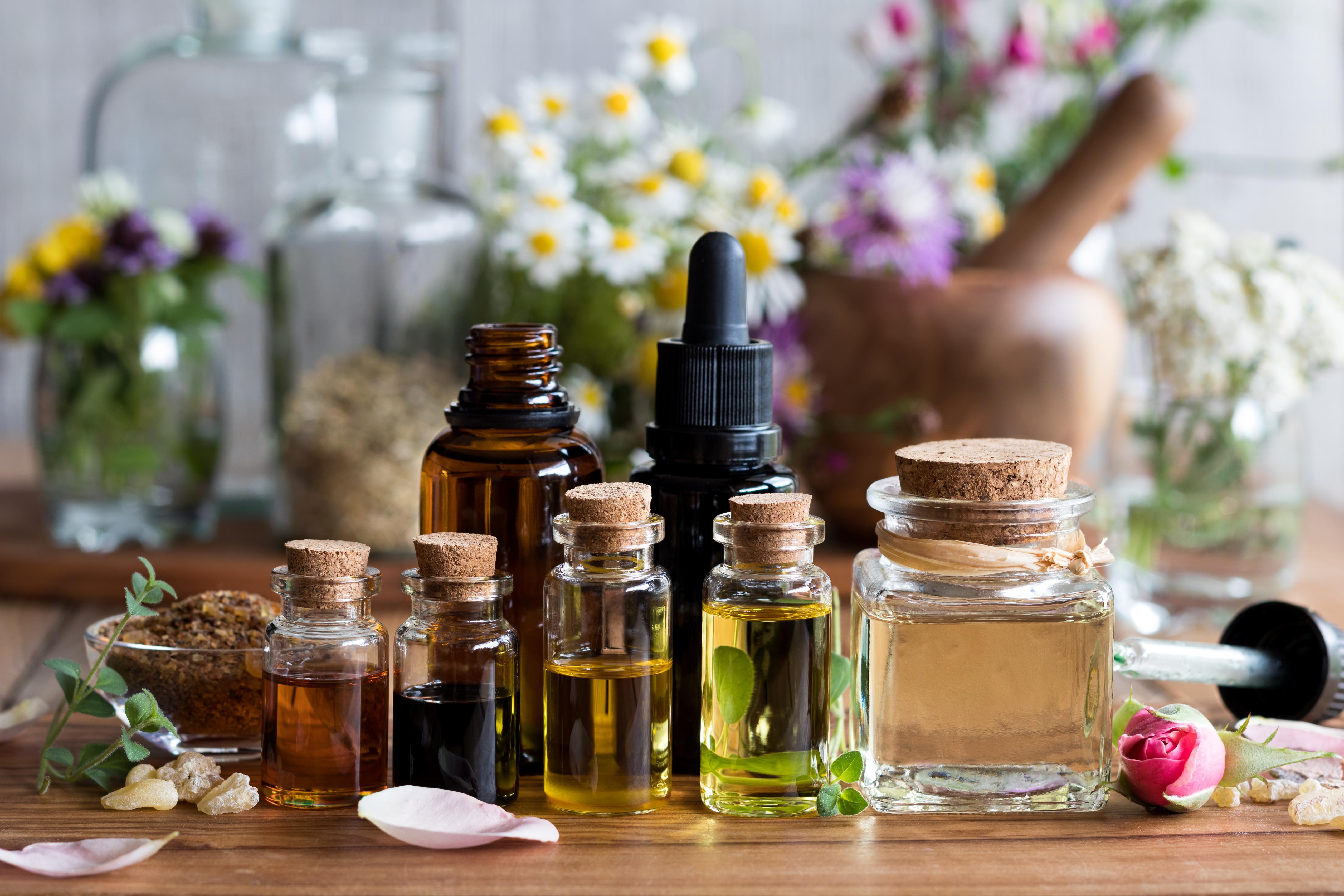 Selección de aceites esenciales