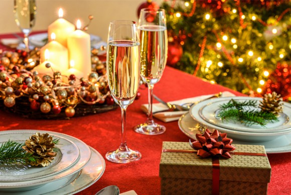 Decoración Navideña para la mesa
