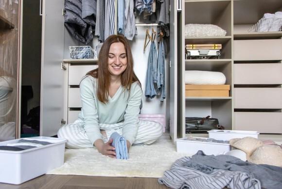 Trucos para optimizar el espacio de tu armario